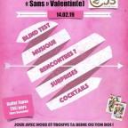 Jeudi 14 février soirée «sans» Valentin(e)