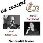 Vendredi 8 février les vieilles canailles en concert